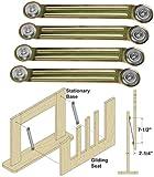 Woodtek 162491, Hardware, Furniture, Miscellaneous, Glider Rocker Bearing Arm Assembly, 4-pack