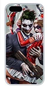 Joker and Harley Quinn Polycarbonate Plastic Case For Htc One M9 Cover White