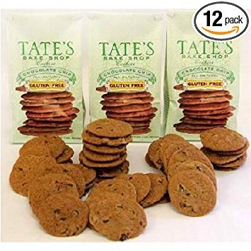Chocolate Chip Cookie 7 Ounces (Case of 12) by Tate's Bake Shop