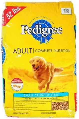 Amazon Com Pedigree Adult Dry Dog Food 52 Lb Pet Supplies