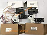 Printer Parts 4pcs New Compatible for DFX-9000 DFX9000 Tractor Front (Left and Right) and Real (Left and Right)