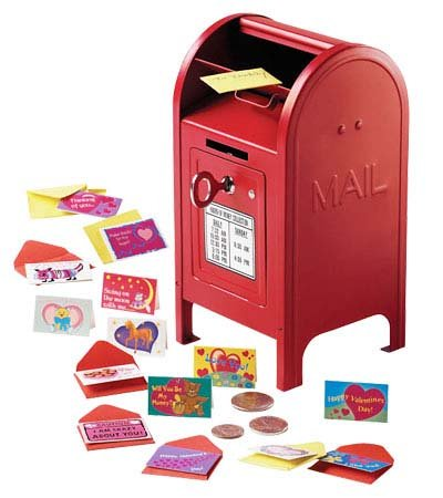 Itsy-Bitsy Valentine Set with Mini Red Mailbox Valentine (Mini Mailbox)