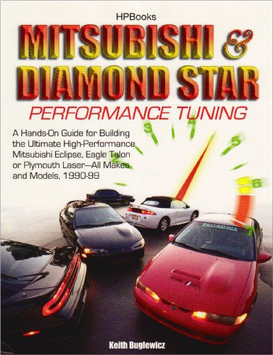Mitsubishi & Diamond Star Performance TuningHP1496: A Hands-On Guide for Building the Ultimate High-PerformanceMitsubishi Eclipse,Eagle Talon or Plymouth Laser, 1990-1999 (Motor Eclipse Laser)