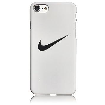 NIKE ナイキ iPhone7ケース アイフォン7 ナイキロゴ スウォッシュ スウッシュSwoosh ロゴデザイン ハードカバー ホワイト