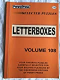 Penny Press Selected Puzzles Letterboxes *Volume 108* Special Collection