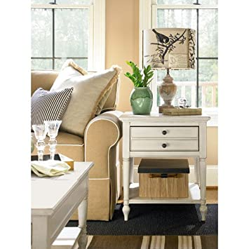 universal furniture summer hill end table cotton