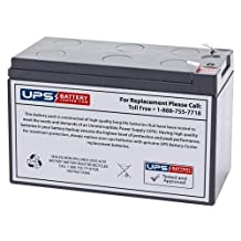 Yuasa NPW45-12 12V 45W/Cell 12V 9Ah Sealed Lead Acid Battery Replacement with F2 Terminals