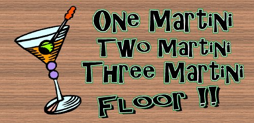 ini Three Martini Floor (Martini Pub Table)