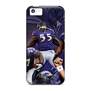 Cute Appearance Cover/Baltimore Ravens Case For Iphone 5c