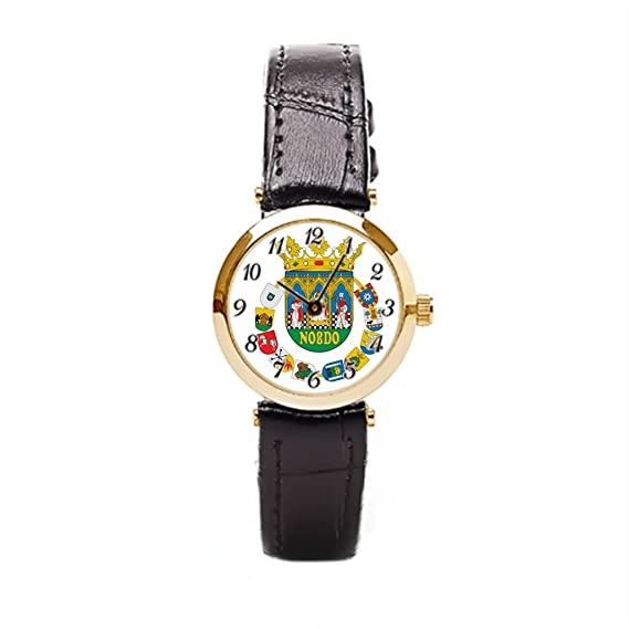 Ser un hombre reloj bandas de piel España Sevilla Sevilla barato Relojes: Amazon.es: Relojes