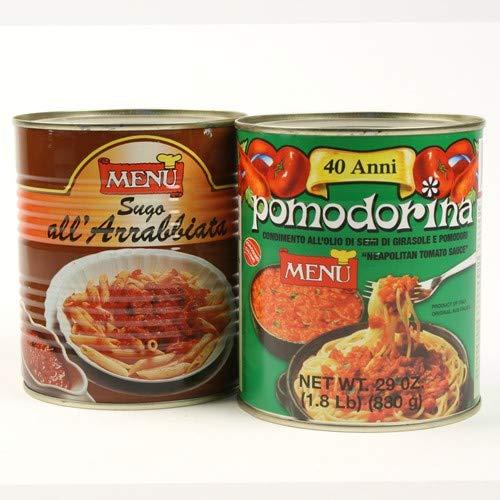 Restaurant Pasta Sauce by Menu - Pomodorina (1.8 pound) (Menu Pomodorina Sauce)