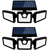 Otdair Solar Security Lights, 3 Head Motion Sensor