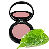 Better'n Ur Cheeks Mineral Blush (DUSTY ROSE) Organic Botanicals & Minerals | Cruelty Free | Talc Free | Pressed Powder | Silky | Long Lasting | Made in USA