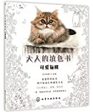 Cute Kitty/ Adult's Coloring Book (Chinese Edition)