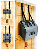 First Ever Secure Large Capacity Over Front Door Removable Package Drop Box/Mailbox with Combination Lock - DropSak Ultra.