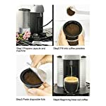 Ladieshow-2Pcs-230ml-Coffee-Capsule-Filter-Cup-WLamina-di-alluminio-usa-e-getta-Accessorio-per-Nespresso-Vertuo