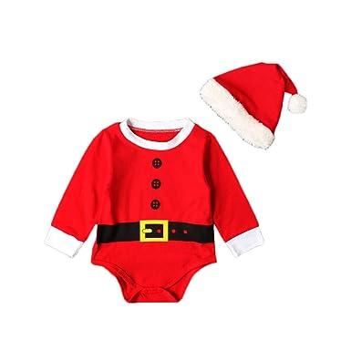 220b8c8f2 Baby Christmas Romper