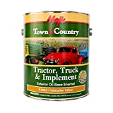 Majic Paints 8-0962-1 Tractor, Truck and Implement Oil Base Enamel, 1 gallon/3.785 L, Caterpillar Yellow