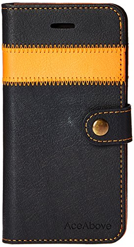 iPhone 6S Case, AceAbove iPhone 6S wallet case [Orange] - Premium PU Leather Wallet Cover by AceAbove