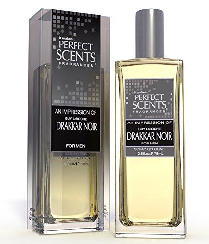 Perfect Scents Impression of Drakkar Noir Cologne, 2.5 Fluid Ounce