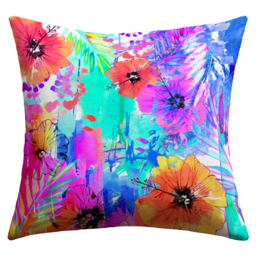 Cheap  Deny Designs Holly Sharpe Hawaiian Heat Outdoor Throw Pillow, 16 x 16