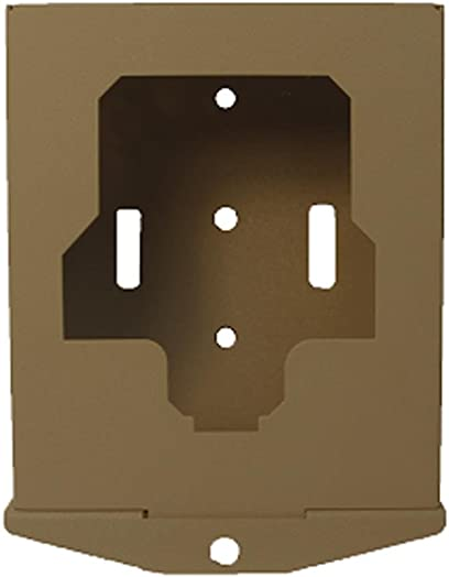 Spartan SC-BX-17 Security Box for All SR1, GoCam Models Cable Lock Hole, Heavy Duty, Powder Coated, Rust-Free, Brown