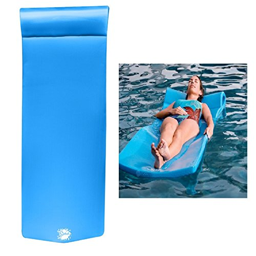 TRC Recreation Splash Pool Float, Bahama Blue Blue Pool Float
