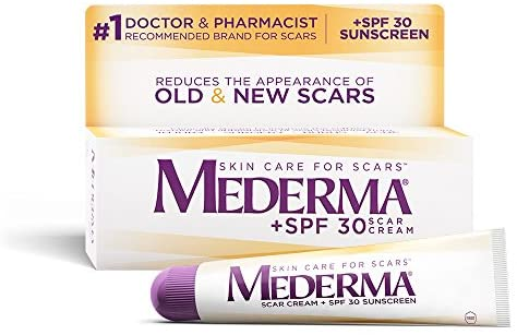 Amazon Com Mederma Scar Cream Plus Spf 30 20 G Health Personal Care