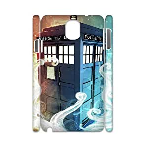 C-EUR Diy Case Doctor Who TARDIS Police Call Box,customized Hard Plastic case For samsung galaxy note 3 N9000