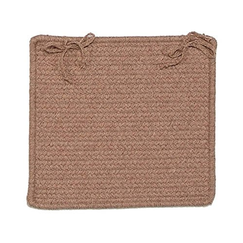 UPC 082262780999, Westminster WM80 Chair Pad, 15-Inch x 15-Inch, Taupe, 1-Pack