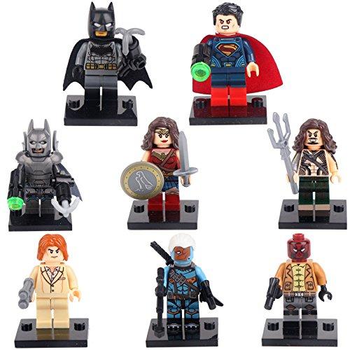 [gonggamtop Batman VS Superman Dawn of Justice Lex 8 Mini figures Building Bricks Toy] (Doc Mcstuffins Costume Toys R Us)