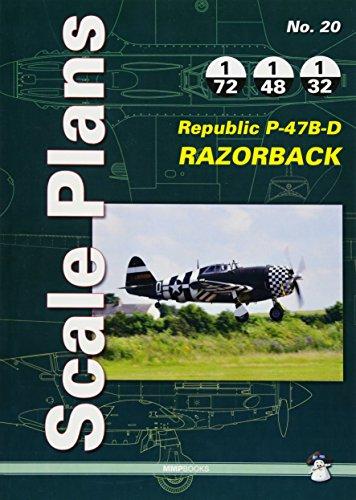 Republic P-47B-D Razorback: Scale ()
