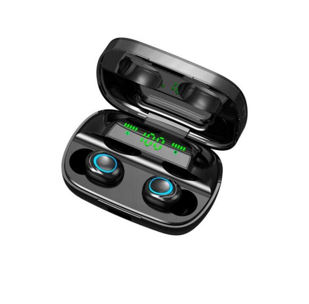 TWS /Écouteurs sans Fil Bluetooth 5.0 /Écouteurs Bo/îtier de Charge St/ér/éo V/éritable avec Microphone Mains Libres /Écouteurs sans fil basse profonde IPX5 Micro-casque int/égr/é /étanche