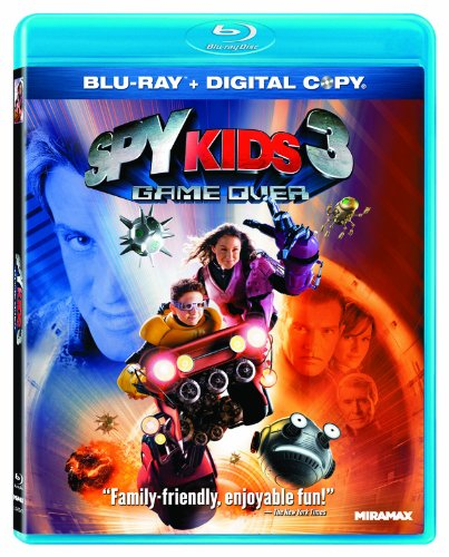 Spy Kids 3: Game Over [Blu-ray + Digital Copy]