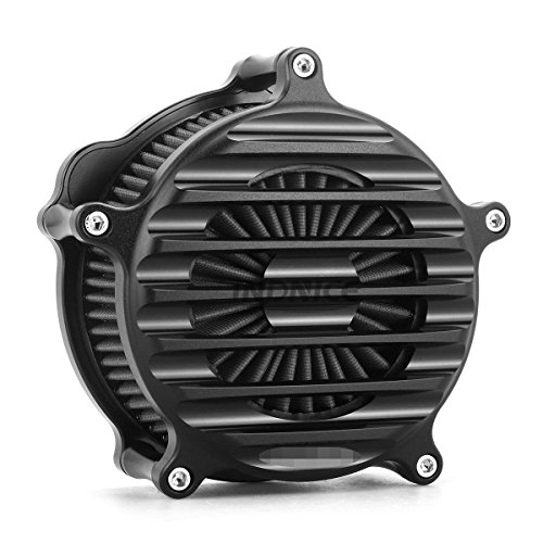 - CNC black Nostalgia Venturi Air Cleaner for harley sportster 1200 air filters xl883 sportster 883 1991-2018