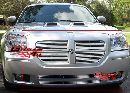 APS Fits 2005-2007 Dodge Magnum Perimeter Billet Grille Combo #D97982A