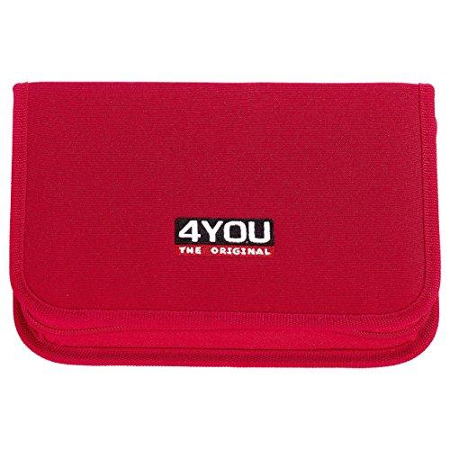 4YOU Zusatztasche Etui Xl, Ungefüllt Pink (Chili) 16590060000