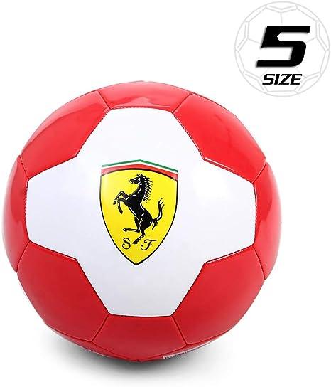 Lixada Ferrari Tamaño 5 Balón de Fútbol Entrenamiento Juego ...