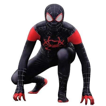 Little Black Spider Traje De Spiderman Cosplay Adultos Props De La ...