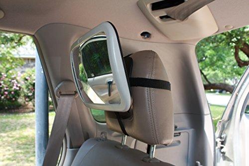 Back Seat Mirror: Mr. Peekatmee Backseat Baby Safety Mirror by Mr. Peekatmee (Image #7)