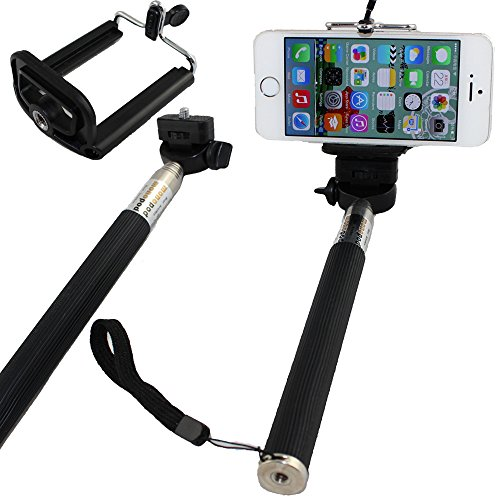LotFancy Extendable Monopod Samsung Adjustable