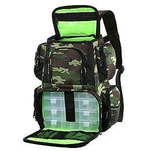 Amazon.com : Lixada Fishing Tackle Backpack
