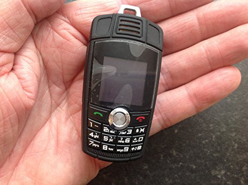 Minimaltech - Smallest Cell Phone - Mini Cell Phone with