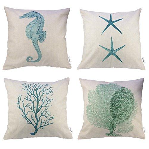Hippih Cotton Cushion Starfish Seahorse