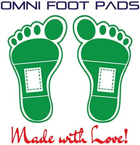 Omni Exclusive LLC Foot Pad - Upgraded Package of 100 Relief Foot Pads and 100 Adhesive Sheets