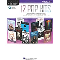 Hal Leonard Instrumental Play-Along: 12 Pop Hits Violin (Book/Online Audio)