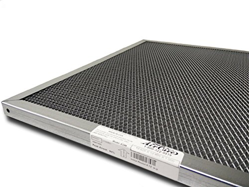 Air-Care 16x25x1 Silver Electrostatic Washable A/C Furnace Air Filter - Limited, Never Buy Another Filter!! - Made In the USA by AirCare (Image #1)