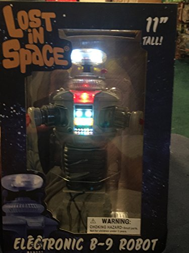Diamond Select Toys Lost in Space: Electronic Lights and Sounds B9 Robot Figure ()