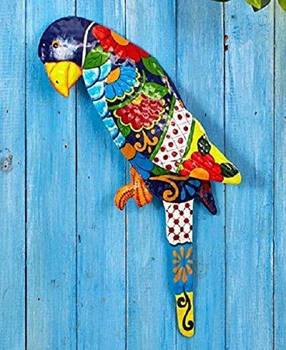Parrot Tropical Metal Wall Art Sculpture Beach Theme Home Decor (Home Depot Halloween Clearance)