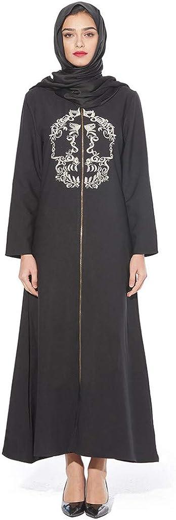 Long Maxi Dress Robe for Women Women Islamic Dress Womens Muslim Ethnic Dress